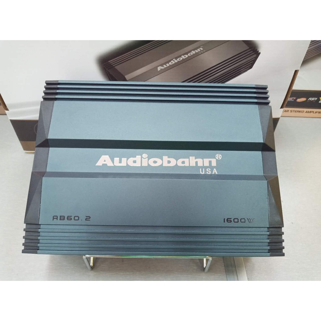 AB-60 2 Audiobahn Class AB 2 Channel Power Amplifier