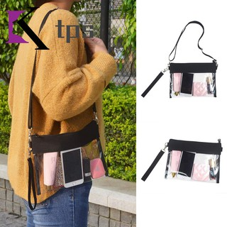 f5944f804d70 Clear Crossbody Purse Bag Clear Shoulder Tote Bag with Adjustable ...