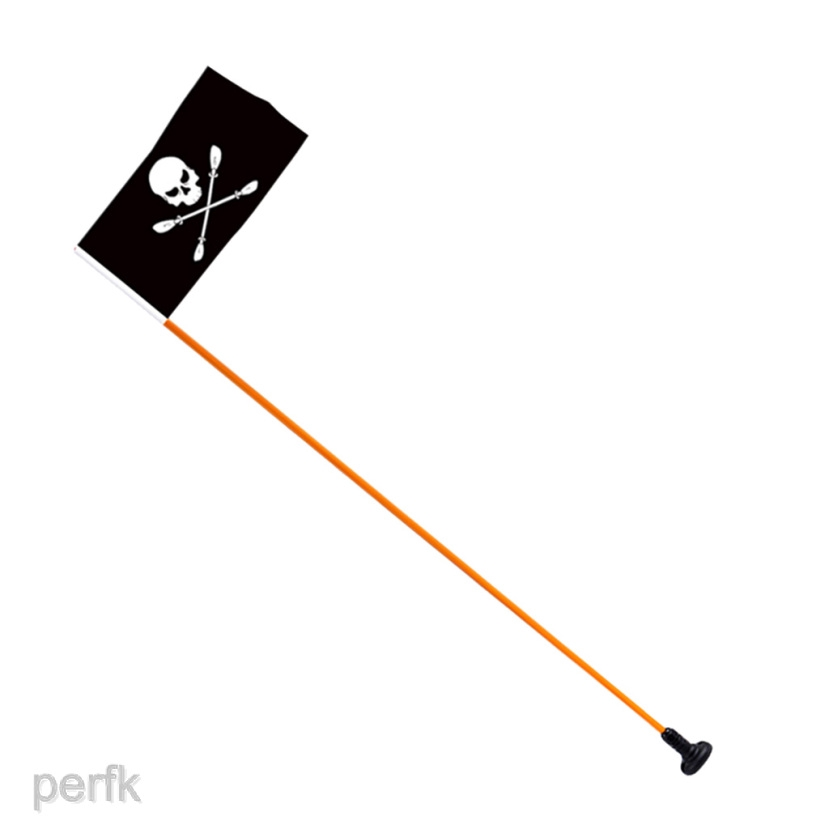 Safety Flag Pole Holder Rail Mount with Base 4 Pcs Kayak Scuppers Plugs