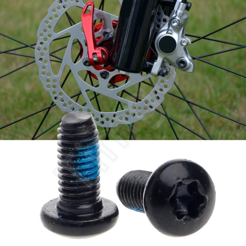 Screws Fastener 6-12PCS MTB Bike Disc Brake Rotor Torx T25 Bolts M5x10mm 6 Color