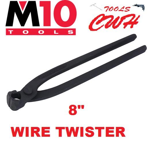 """WT-200 8"""" M10 WIRE TWISTER CUTTER PLIER"""