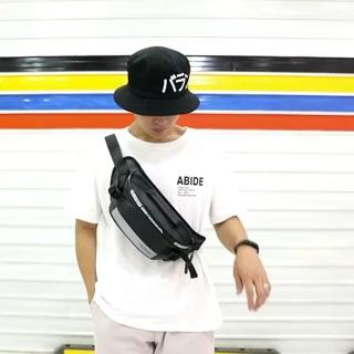 2019 New Nylon Waist Bag For Men Casual Chest Bag