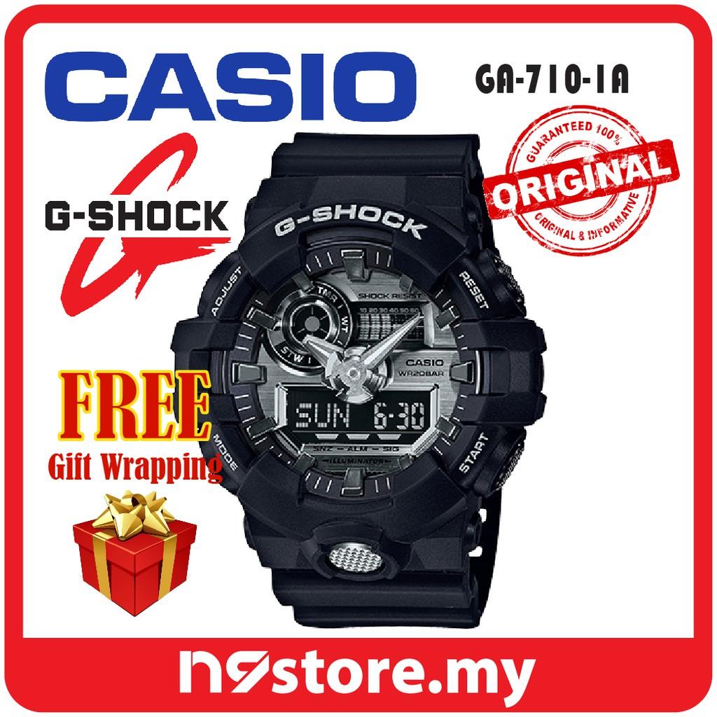 c4eb7988051 Casio G-Shock GA-710-1A Analog-Digital Tough Series Sports Watch ...