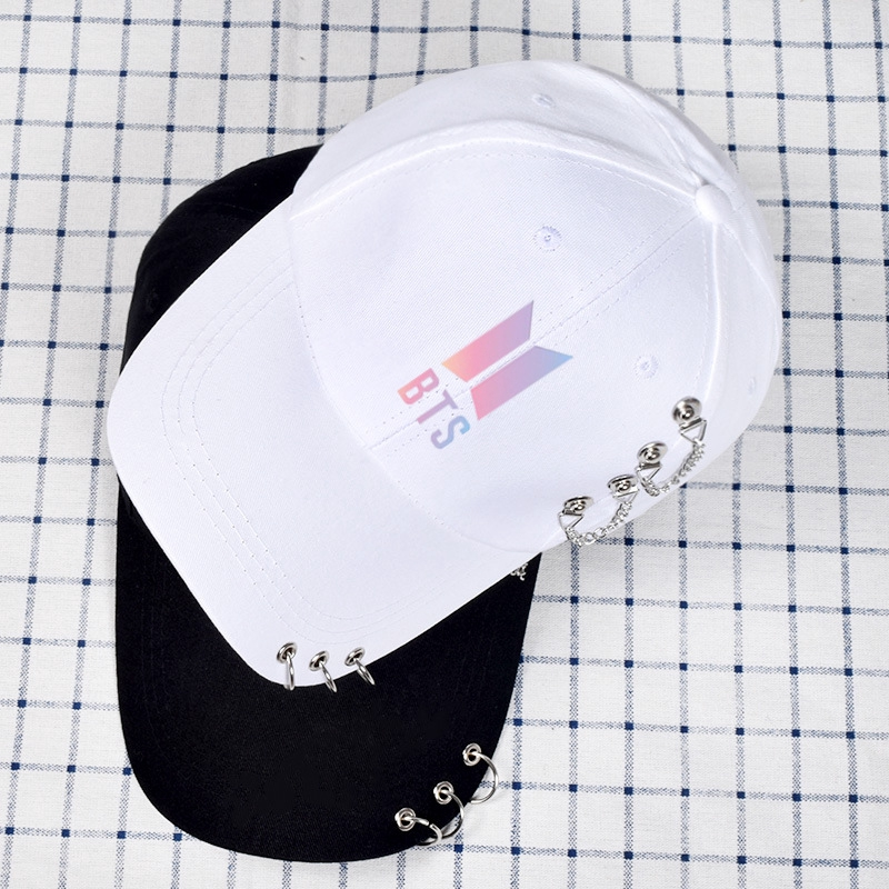BTS Hat Same Kind of Willow Nail Baseball Cap Summer Leisure Cap
