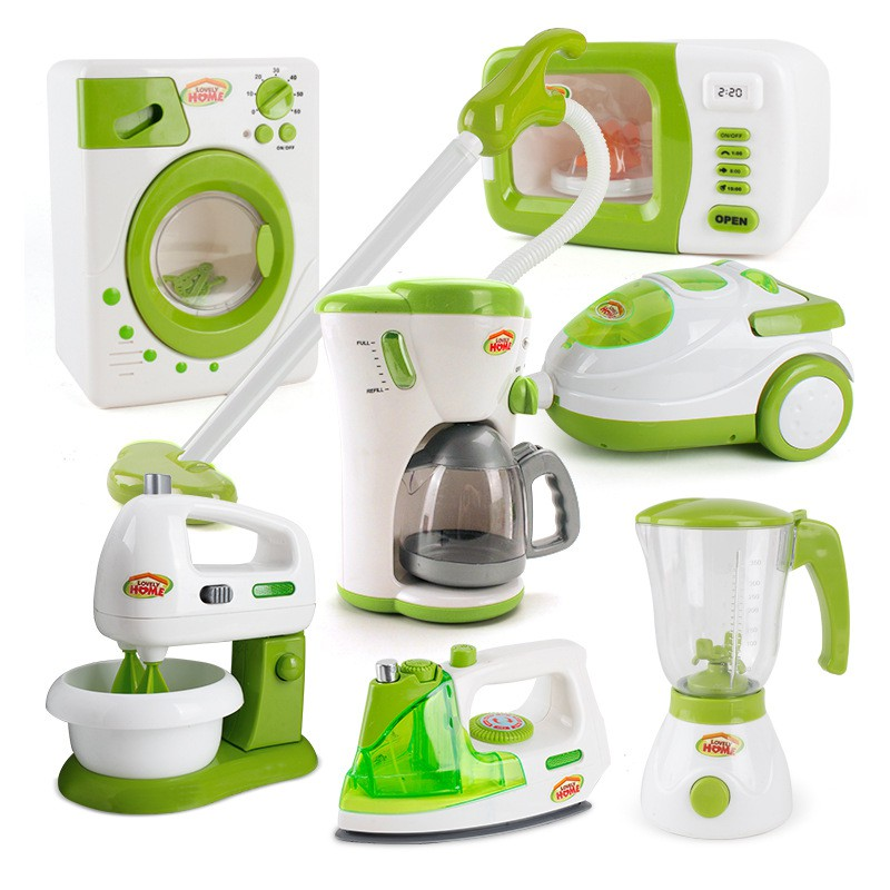 Kids Kitchen Accessories >> Children Pretend Kitchen Appliances Toy Kitchen Accessories Kids Kitchen Accessories Play Home Appliances Green