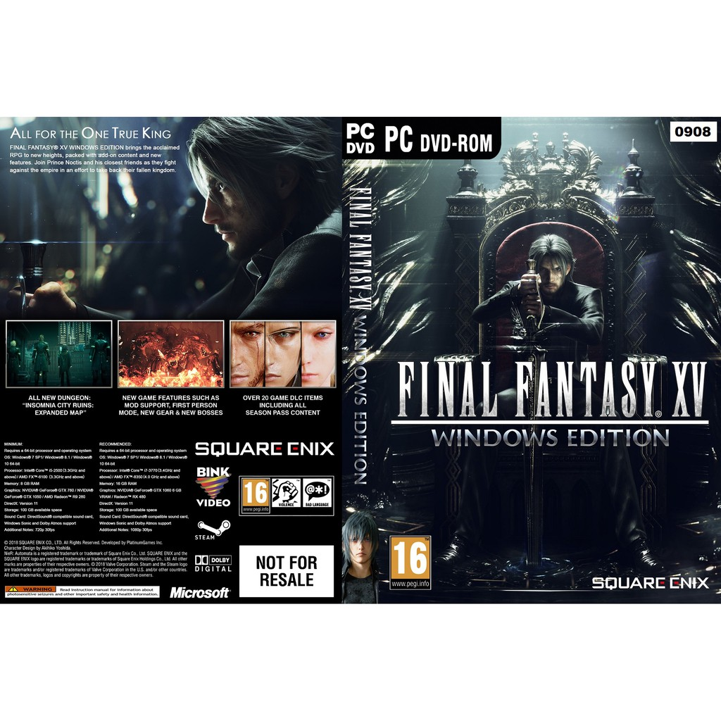 (PC) Final Fantasy XV Windows Edition