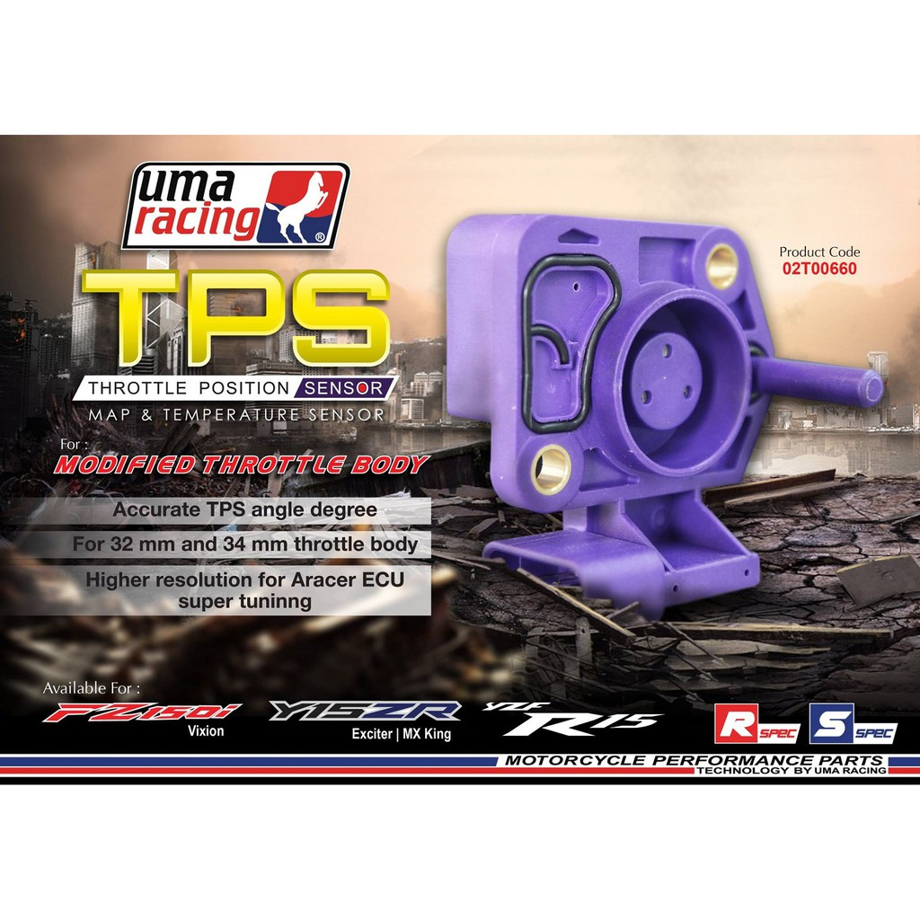 UMA RACING Y15ZR TPS (THROTTLE POSITION SENSOR)