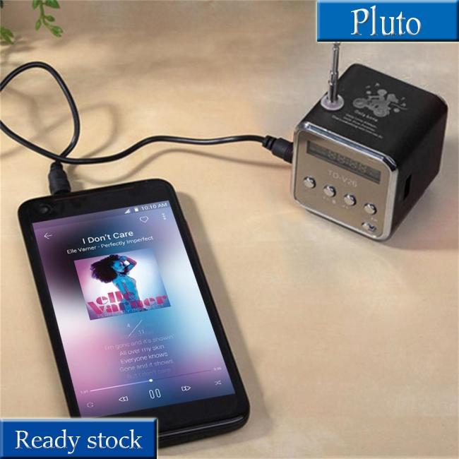 Portable Micro USB Stereo Speaker Super Music Player FM Radio PC MP3 //4 Notebook