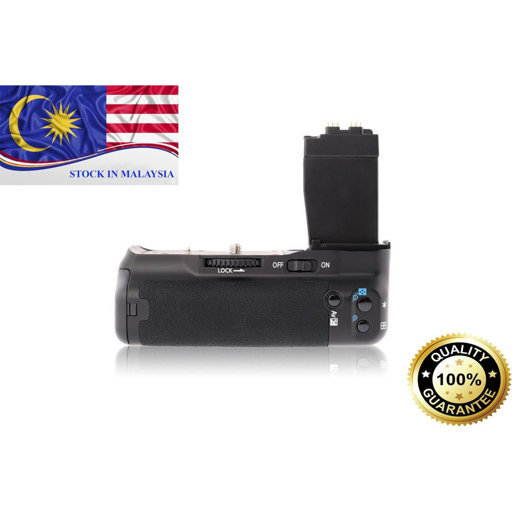 MeiKe MK-550D Battery Grip for Canon EOS 550D/600D/650D/700D (Ready Stock In Malaysia)