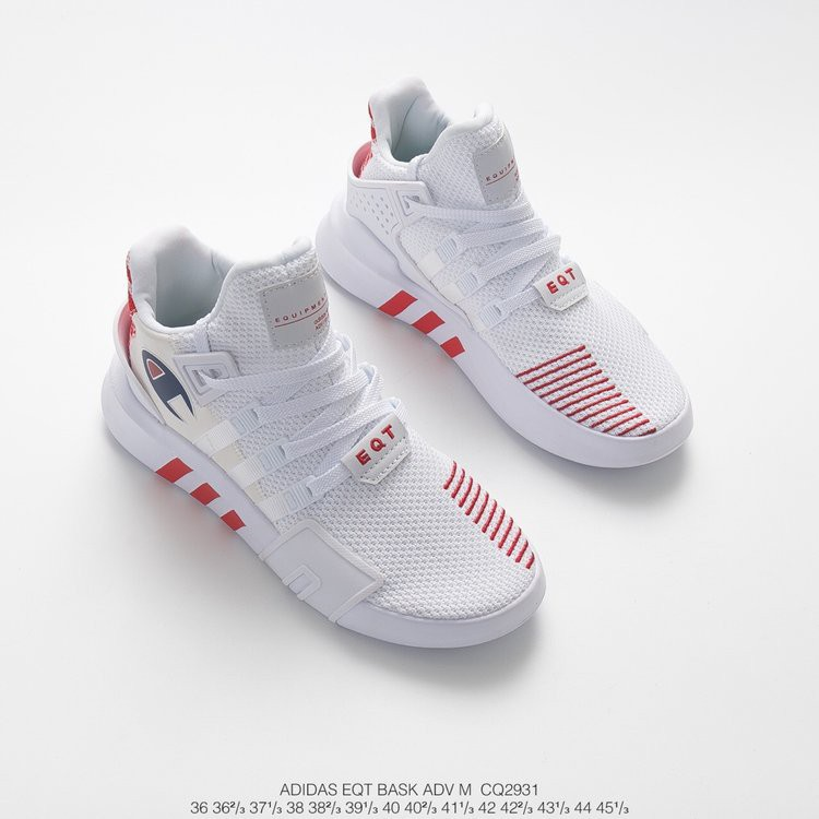 Asombro Madison pub  Adidas EQT Bask ADV X Champion men's women's running shoes white 36-45 |  Shopee Malaysia