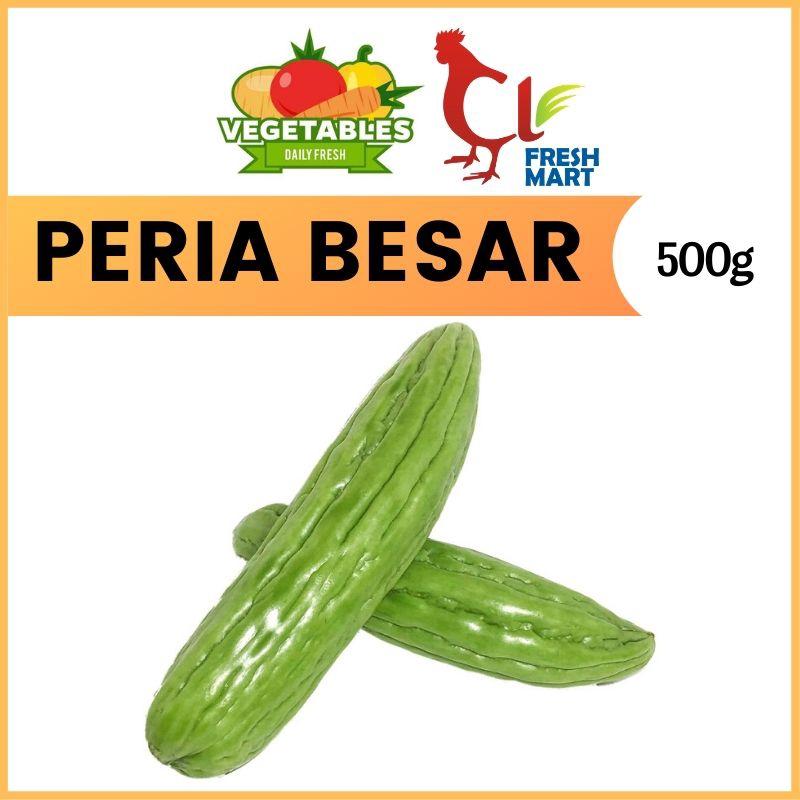 Peria Besar (500g) Momordica Charantia Fresh Selected