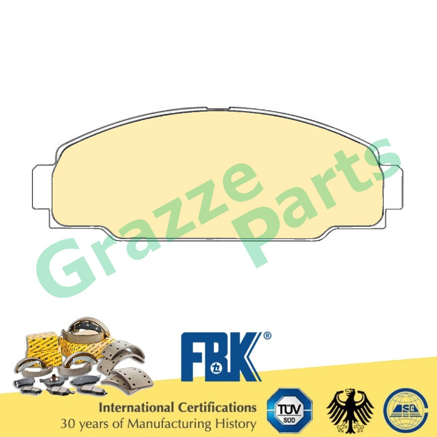 FBK Disc Brake Pad Front for FD2059S Toyota Dyna LY211 YH211 MS110