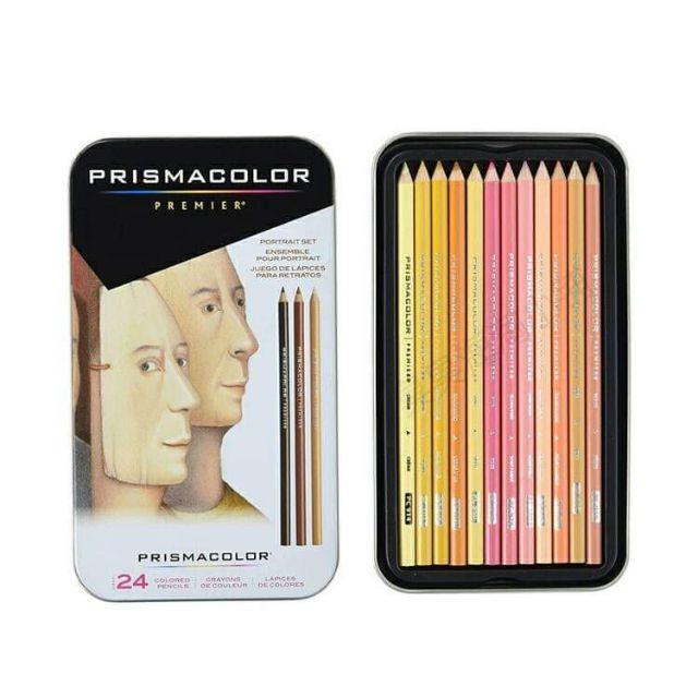 Prismacolor Premier Colored Pencils Skin Tone Prismacolor 美国霹雳马彩铅 肖像肤色24色人像油性彩铅