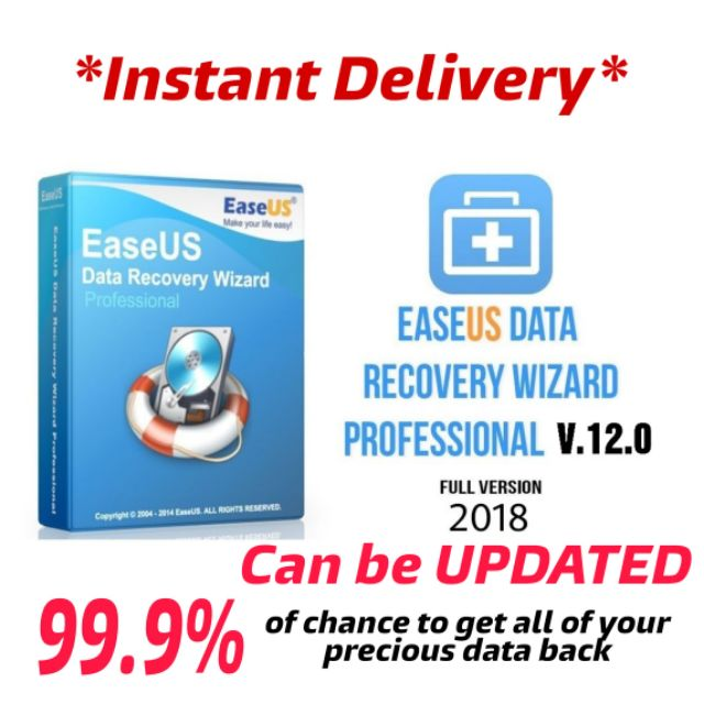 easeus data recovery professional full version