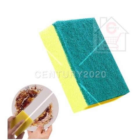 RIMEI Economic Sponge Scouring Pad Kitchen Brush Dish Strong Cleaning Sponge Kitchen Dish Washing