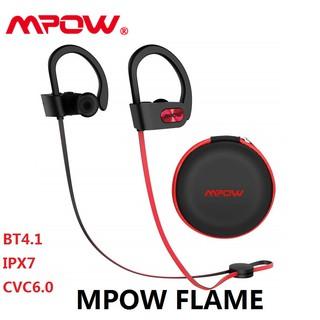 07305bc1279093 【PROMO】Mpow Flame Bluetooth Headphones IPX7 Waterproof Earphones【1YEAR  Warranty】