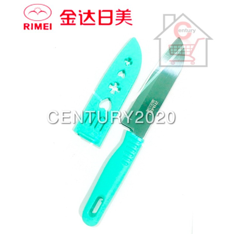 RIMEI Fruit Knife Kitchen Portable Fruit Knife With Cover Kitchen Tools 5165