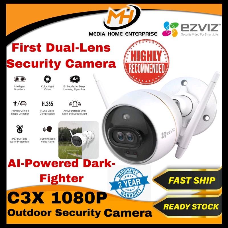 Ezviz C3X Dual-Lens/ AI/ Voice Alerts Camera