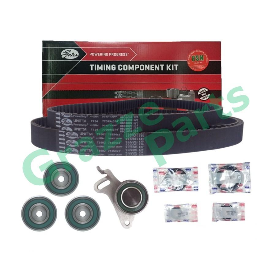 GATES Timing Belt Kit Set for Mitsubishi Triton 2.5 3.0 154RU25 and 99YU19