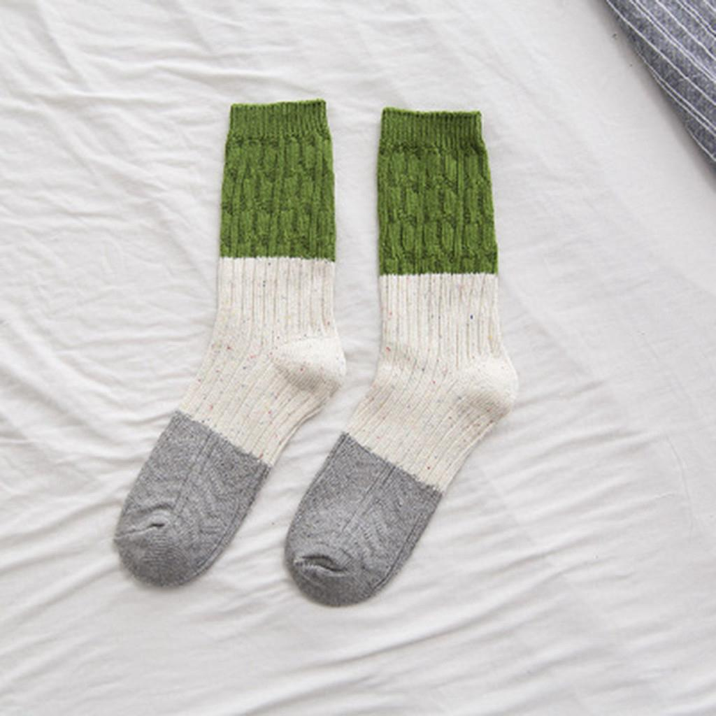 4788c9afc3d03 🌸Sunshine🌸 Winter Warm Spot Socks Casual Retro Joint Socks Stocke |  Shopee Malaysia