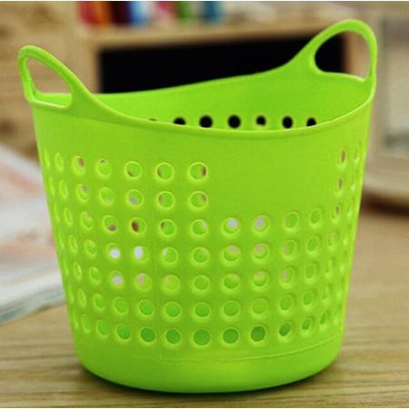 High Quality Storage Basket Practical Portable Useful Mini Desk Plastic Organizer Hot Stationery Storage Basket