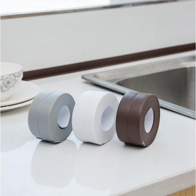 3.2M Wall Sealing Strip Waterproof Self-Adhesive Kitchen Caulk Tape Bathroom