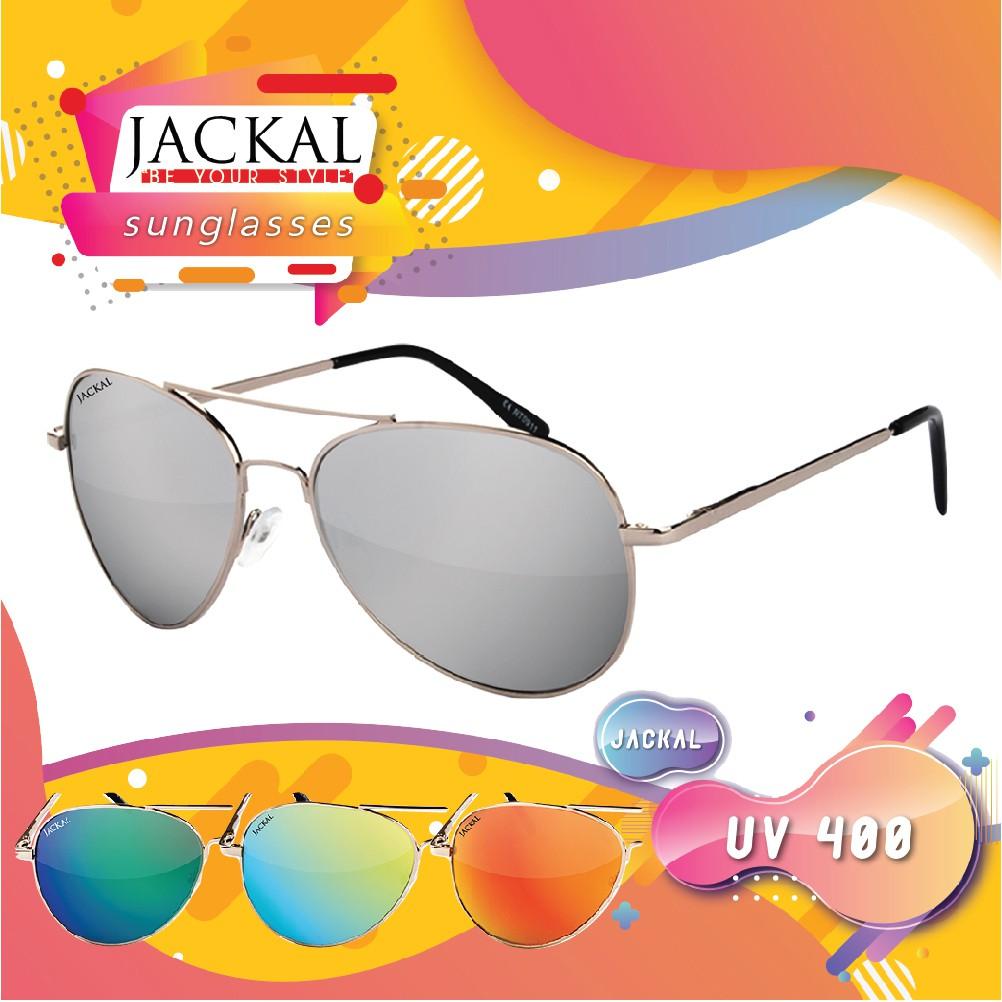Jackal Sunglasses แว่นกันแดด รุ่น Shipmaster JS031-JS035 (พร้อมผ้าเช็ดแว่นและกล่อง