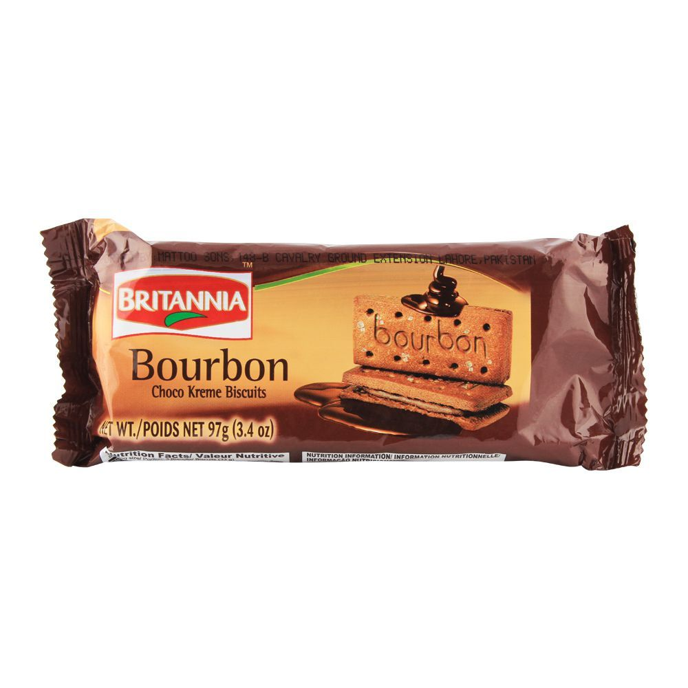 *BRITANNIA BOURBON 97GM*