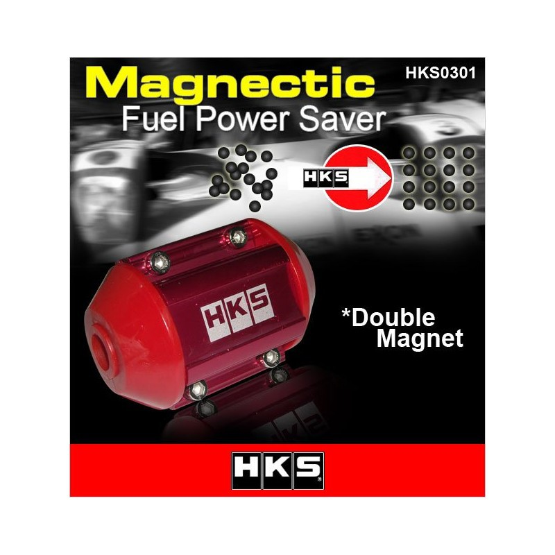 [FREE Gift]ORIGINAL HKS Double Magnetic Fuel Saver Imported From Japan [0301]