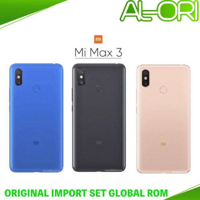 Xiaomi Mi Max 3 (128GB OR 64GB) Original Import Set GlobalRom