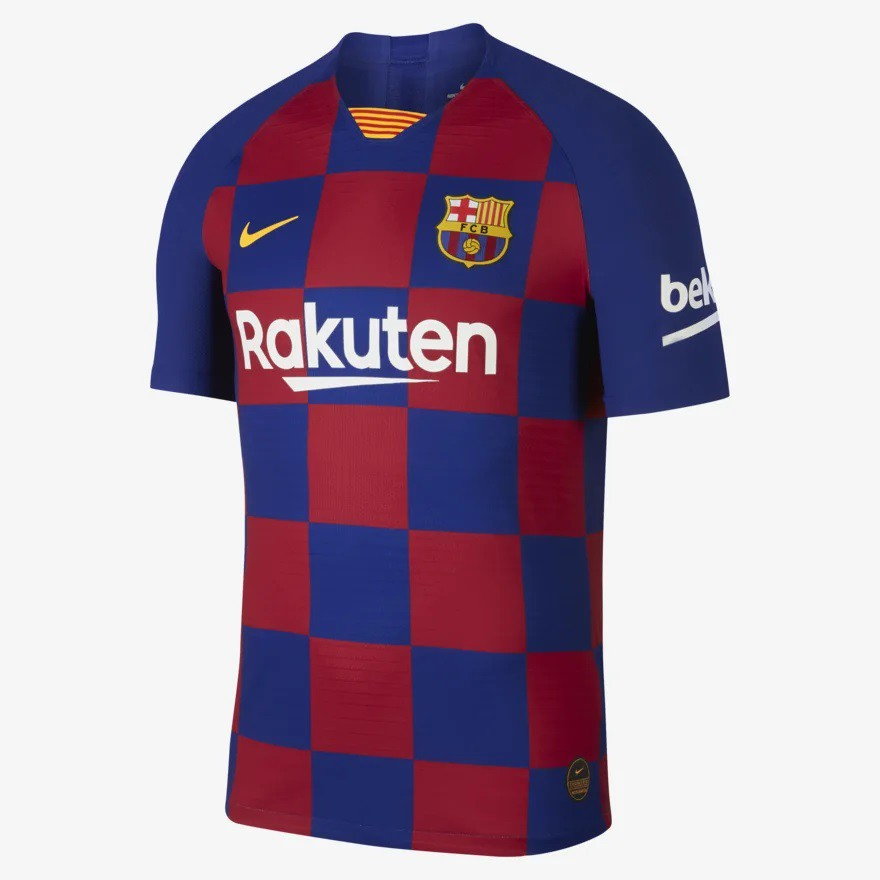 1:1 Copy ori 2019/2020 Barcelona Home football soccer kit jersey top qu