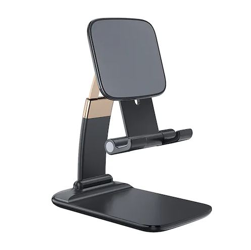 Foldable Desk Mobile Phone Holder Stand For iPhone iPad Pro Gravity Table Desktop Cell Stand