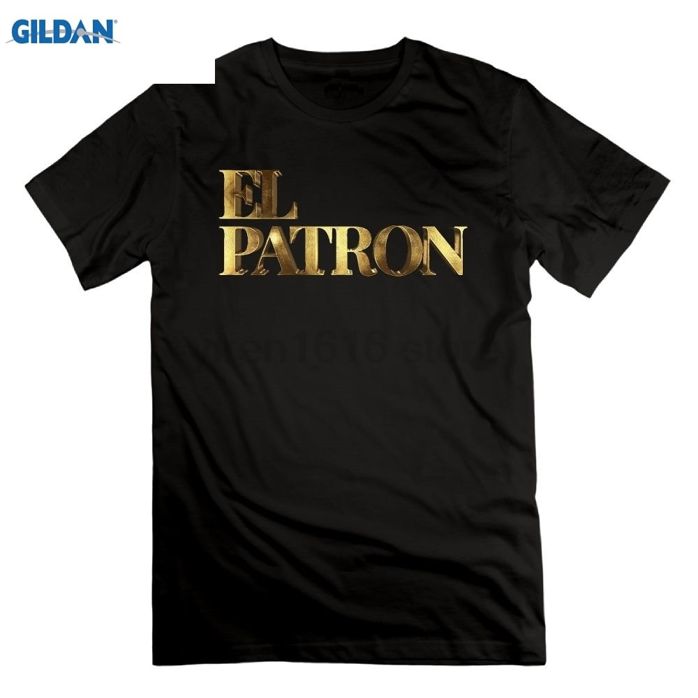 b59506893 Eightin Pablo Escobar Narcos El Patron Gold T-Shirt Crew Neck Short Sleeve  100% | Shopee Malaysia