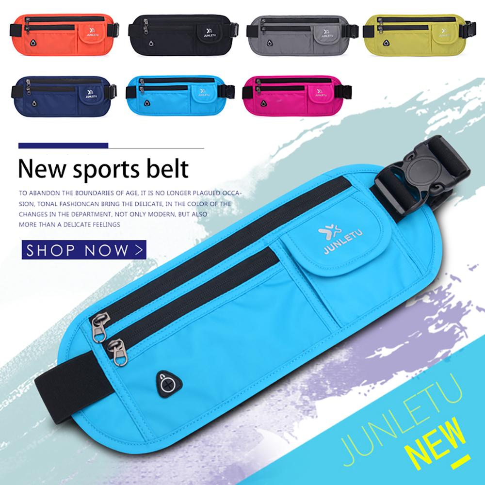 ad362971021e Running Waist Bag Gym Sport Bag Unisex Running Belt Mobile Phone ...