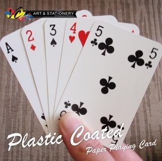 Plastic Coated Jaws Casino Poker Playing Card 52 + 4 Joker ...