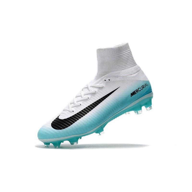 bff56d0a559 Nike Mercurial Superfly V Fg Rising Fast Pack Light Blue Black ...