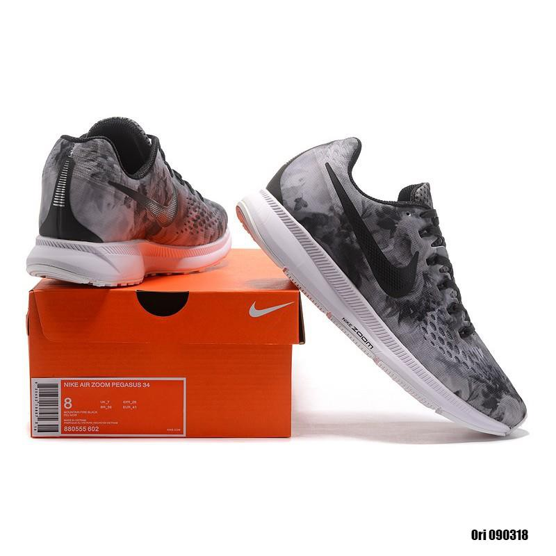 8256fbb1022184 Original New Arrival NIKE AIR ZOOM PEGASUS 34 Men Running Shoes Sneakers