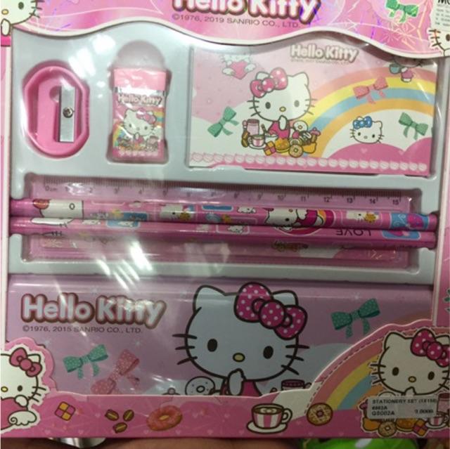 Frozen, Spiderman, Mickey, Hello Kitty Stationary Set, Disney Characters Pencil Box Set, Sharpener, Ruler & Eraser