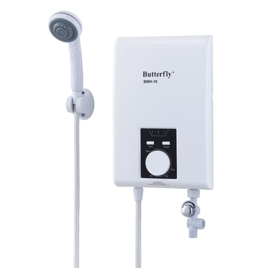 Butterfly Water Heater Shower BWH-10
