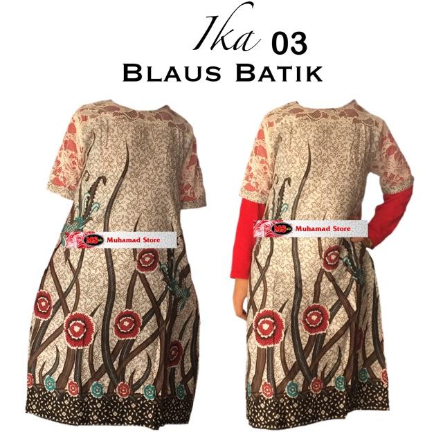 Kain Batik Ika ( Blouse)