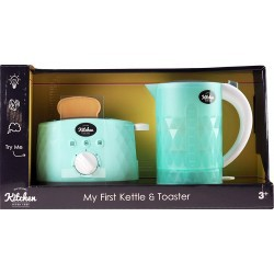 INFUNBEBE KETTLE & TOASTER TOY ELECTRONIC
