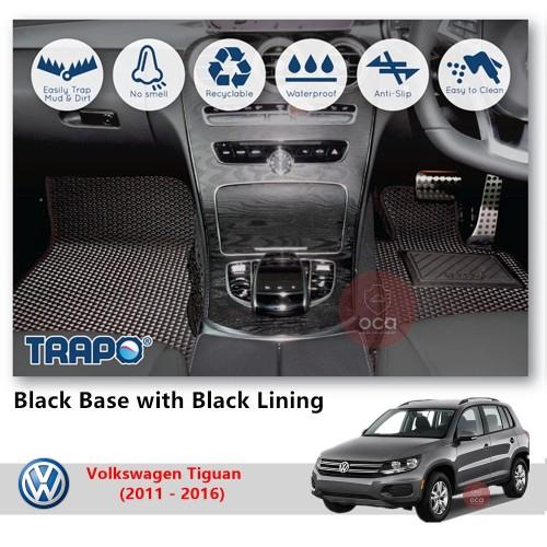 TRAPO Customize Car Floor Mat for Volkswagen Tiguan (2011 - 2016)