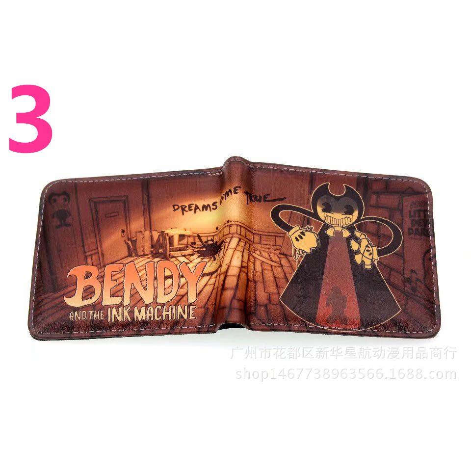 Bendy and the Ink Machine Wallet Black Bendy Bad Guys Wallet Bendy