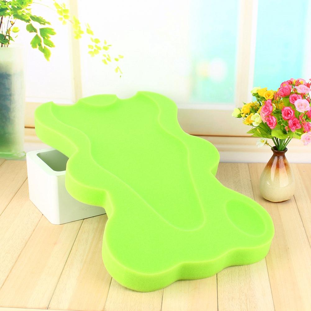 Bath Sponge Support Safety Bathing Mat Foam Bathing Cushion Mat for Baby Infant