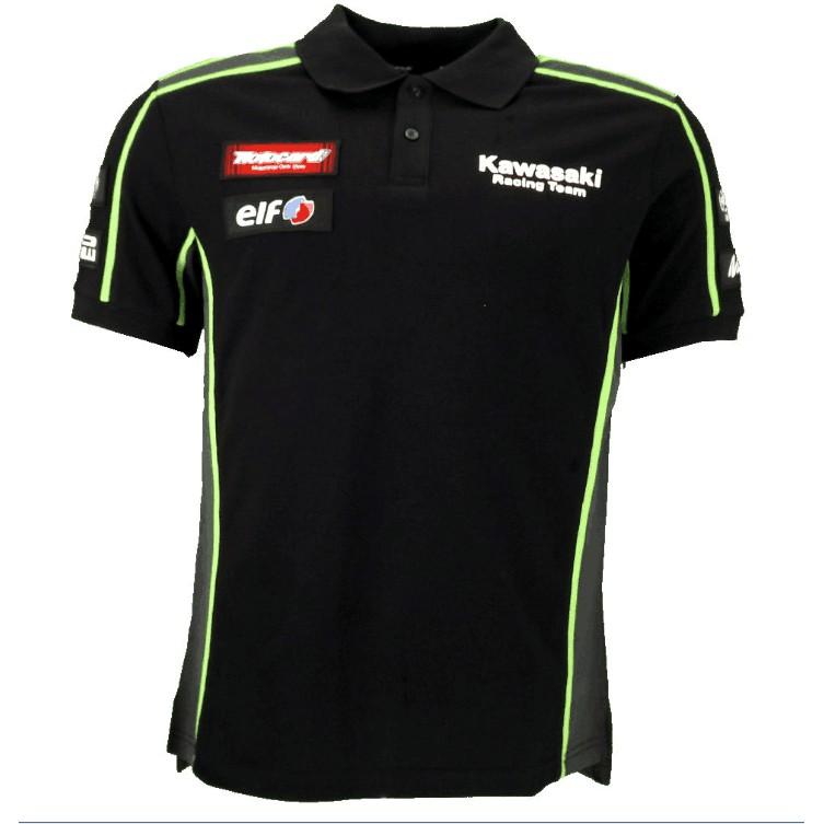 d9feb4dcf Kawasaki Racing Team Men's Polo Shirt 2018 Cool Style Motorcycle Racing  Cotton | Shopee Malaysia