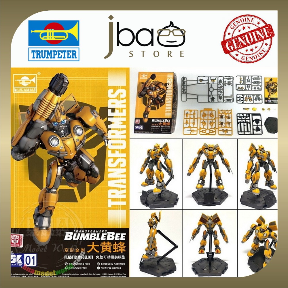 Trumpeter Transformers Bumblebee Smart Model Kit No Glue Easy Assemble