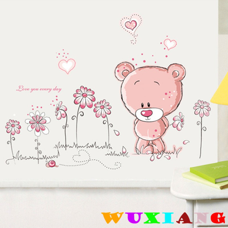 【wuxiang】Cartoon Dogs Children's Living Room Sticker DLX1003 | Shopee Malaysia