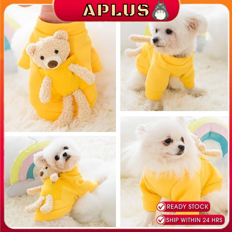 Pet sweater spring and autumn early summer cat two feet puppy teddy puppies dog puppies clothes dog clothes