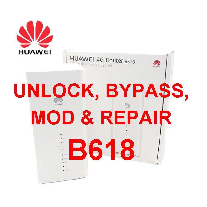 Huawei B618 Unlock, Bypass, Mod & Repair