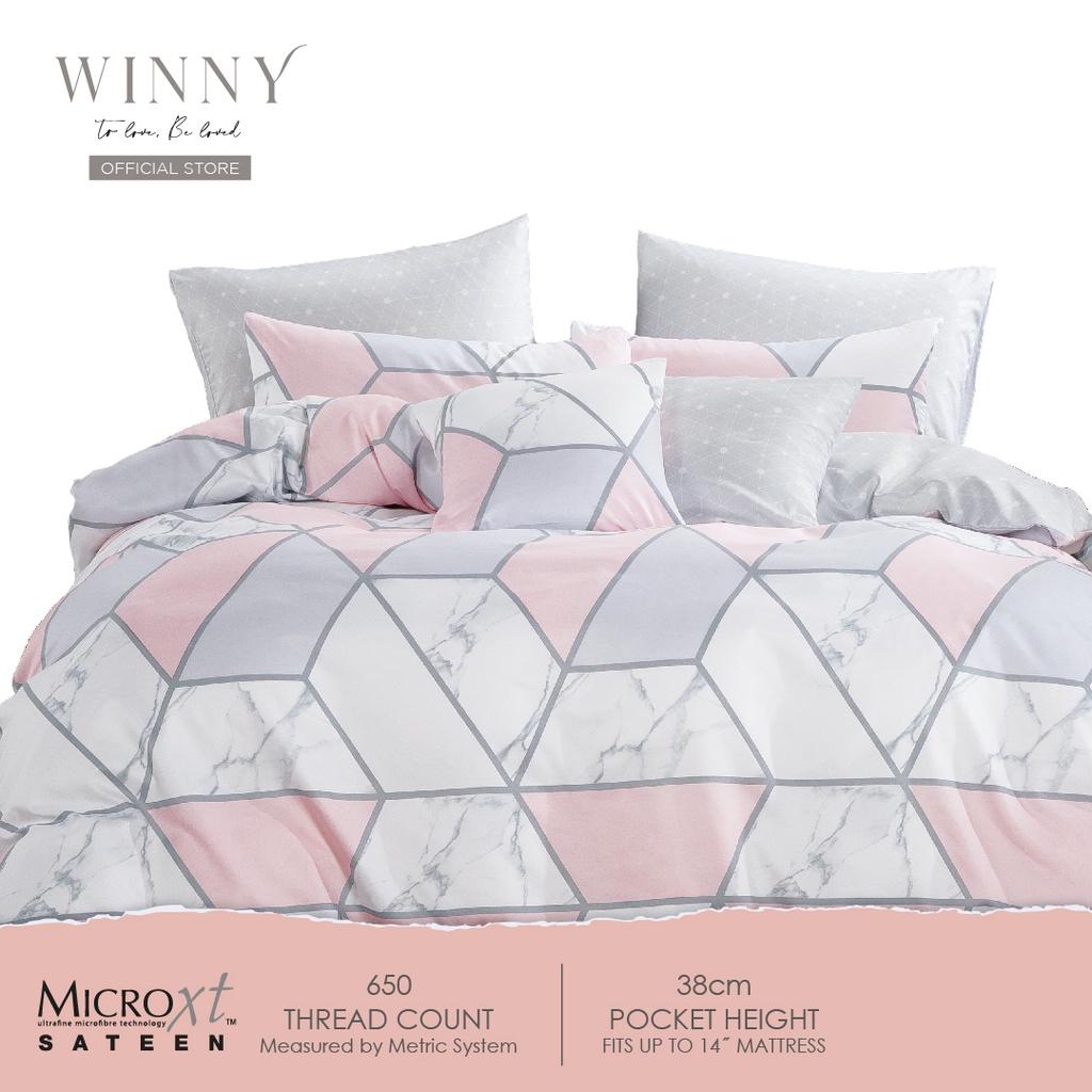 Winny Passionate Comforter Set-650TC (SUPER SINGLE/QUEEN/KING)